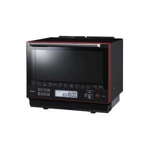 TOSHIBA(東芝) ER-SD3000(R) 過熱水蒸気オーブンレンジ「石窯ドーム」(30L) グランレッド|giga-web