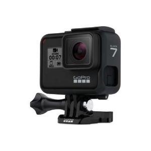 GoPro(ゴープロ) CHDHX-701-FW マイクロSD対応 4Kムービー ウェアラブルカメラ GoPro(ゴープロ) HERO7 ブラック [4K対応 /防水]|giga-web