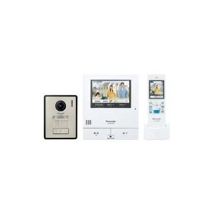 Panasonic(パナソニック) VL-SWD505KF ワイヤレスモニター付きカラーテレビドアホン 「外でもドアホン」(電源コード式/直結式兼用) giga-web