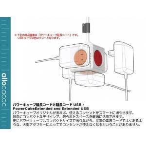 パワーキューブ 延長コード1.5m Power Cube Extended(レッド)|gigamedia2|03