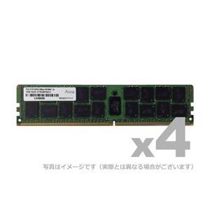 アドテック サーバ用増設メモリ DDR4-2400 RDIMM 8GB 4枚組 SR ADTEC ADS2400D-R8GS4
