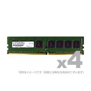 アドテック デスクトップ用増設メモリ DDR4-2400 UDIMM 4GB 4枚組 省電力 ADTEC ADS2400D-X4G4|gigamedia2