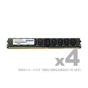 アドテック サーバ用増設メモリ DDR4-2666 UDIMM ECC 16GB 4枚組 VLP ADTEC ADS2666D-EV16G4|gigamedia2