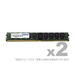 アドテック サーバ用増設メモリ DDR4-2666 UDIMM ECC 16GB 2枚組 VLP ADTEC ADS2666D-EV16GW|gigamedia2