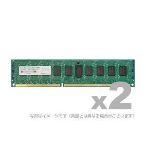 アドテック サーバ用増設メモリ DDR2-667 RDIMM 1GB SR 2枚組 ADTEC ADS5300D-R1GSW|gigamedia2