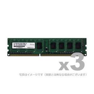DOS/V用 DDR3-1066 UDIMM 2GBx3枚 gigamedia2