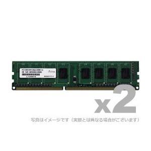 DOS/V用 DDR3-1066 UDIMM 2GBx2枚 gigamedia2