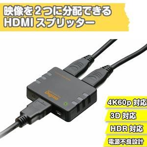 4K60p/HDR対応HDMIスプリッター PHM-SP102S  プリンストン|gigamedia2