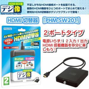 デジ像 HDMI-BOX版 HDMI切替器 2ポート搭載モデル ブリスターパッケージ gigamedia2