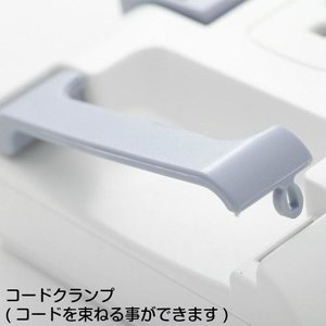 イーサプライズ 12個口可動式電源タップ トリプルノーマルタイプ(S9PC01RB)|gigamedia2|03