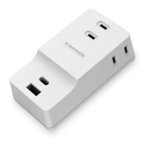 AC充電器 5.1A USB A&C + ACタップ×3 TSK53CUW 多摩電子工業|gigamedia2|02