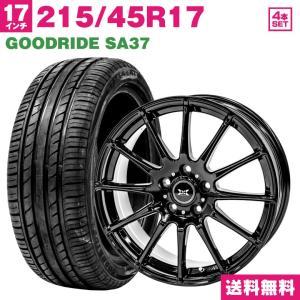 タイヤホイールセット サマータイヤ 215/45R17 GOODRIDE SA37 送料無料 4本セ...