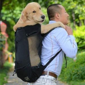 通気性 ペット 犬 大型犬 ゴールデンレトリバー ブルドッグリュック 調節可能 ビッグ犬 旅行用 バ...