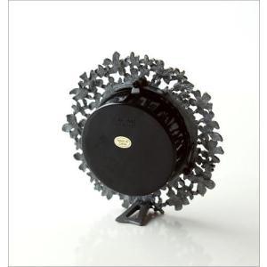 置き時計 置時計 かわいい エレガント おしゃれ アナログ 花 デザイン テーブルクロック プチフラワー|gigiliving|04