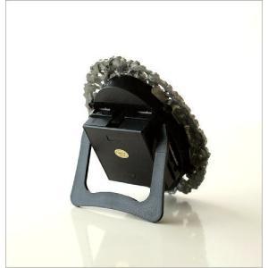 置き時計 置時計 おしゃれ アンティーク アナログ かわいい 卓上 時計 テーブルクロック オーバルフラワー|gigiliving|06