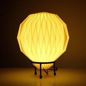 テーブルランプ 紙 LED おしゃれ モダン 間接照明 リビング 玄関 和モダン 和室 モーネデスクランプ|gigiliving