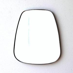 鏡 壁掛けミラー アンティーク おしゃれ ウォールミラー シンプル スタイリッシュ モダン 丸み デザイン オーバル壁掛ミラー|gigiliving