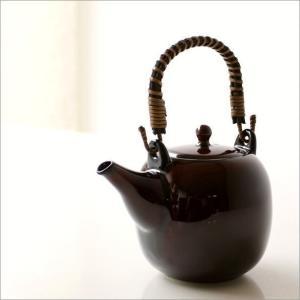 土瓶 急須 きゅうす おしゃれ 日本製 美濃焼 土瓶 うるし釉|gigiliving|02