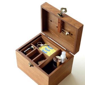救急箱 木製 おしゃれ 小物入れ 薬箱 収納 整理ボックス 木箱 救急ボックス ファーストエイドボックス ナチュラル シンプル ブラウン 木の救急箱|gigiliving