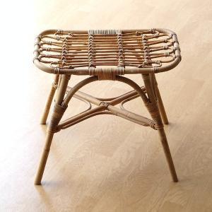 スツール ラタン 籐 おしゃれ ナチュラル 洗面台 玄関 椅子 腰掛け 軽い 軽量 補助椅子 天然素材 ラタンスクエアスツール|gigiliving