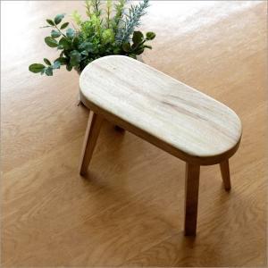 花台 木製 フラワースタンド ベンチ風 ウッド 木目 琉球松 天然木 かわいい シンプル ナチュラル 椅子風 スツールデザイン 天然木のフラワーベンチ クスノキ gigiliving