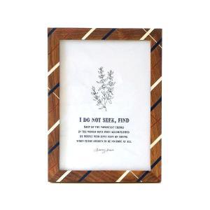 ピクチャーフレーム 木製 フォトフレーム 写真立て おしゃれ 卓上 壁掛け 縦置き 横置き 壁飾り ビッグなウッド&レジンフレーム|gigiliving