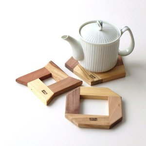 組木ポットマット 3タイプ|gigiliving