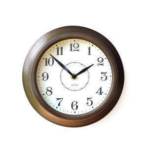 壁掛け時計 掛け時計 掛時計 壁掛時計 おしゃれ アンティーク シンプル レトロ スチールウォールクロック|gigiliving