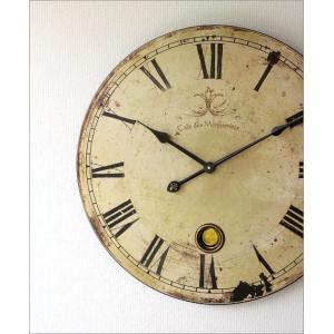 壁掛け時計 掛け時計 掛時計 壁掛時計 レトロ おしゃれ 大きい 大型 アンティークなラージクロック|gigiliving|02