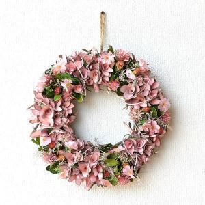 リース 玄関 飾り ナチュラル おしゃれ かわいい ドライフラワー 造花