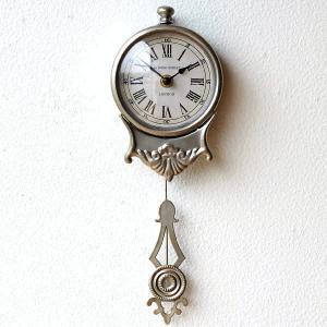 掛け時計 振り子時計 おしゃれ アンティーク レトロ 小さな掛け時計|gigiliving