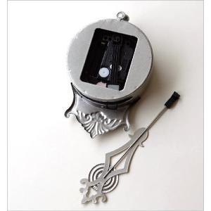 掛け時計 振り子時計 おしゃれ アンティーク レトロ 小さな掛け時計|gigiliving|04