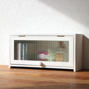 木製小物入れ 天然木ボックス 扉 BOX 素朴なウッドケース ホワイト|gigiliving
