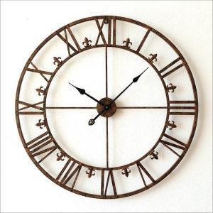 壁掛け時計 掛け時計 壁掛時計 掛時計 おしゃれ アイアン アンティーク レトロ クラシック 大きい 大型 ウォールクロック 大きな掛け時計 アイアンダイヤル|gigiliving|07
