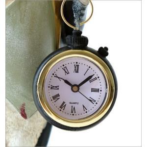 置き時計 置時計 おしゃれ アナログ レトロ アンティーク 卓上 時計 かわいい ふくろう フクロウ 雑貨 置物 オブジェ インテリア ジェントルオウルクロック gigiliving 04