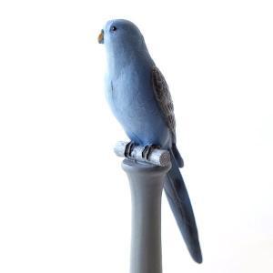 鳥 置物 オブジェ 雑貨 かわいい 可愛い おしゃれ インテリア ブルーバードの置物|gigiliving
