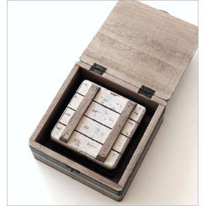 小物入れ ふた付き 木製 アクセサリーケース おしゃれ 宝箱 入れ子 収納 アンティーク レトロ 卓上 ウッドトレジャーBOXセット|gigiliving|04