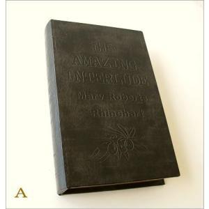 本型小物入れ ブック型 収納ボックス 洋書 宝箱 シークレットボックス レトロ アンティーク 雑貨 収納ケース BOX レトロブックボックス 2タイプ|gigiliving|06