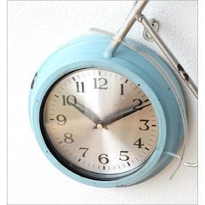 掛け時計 アンティーク レトロ おしゃれ かわいい ビンテージ アナログ 自転車ウォールクロック|gigiliving|03