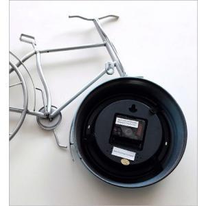 掛け時計 アンティーク レトロ おしゃれ かわいい ビンテージ アナログ 自転車ウォールクロック|gigiliving|06