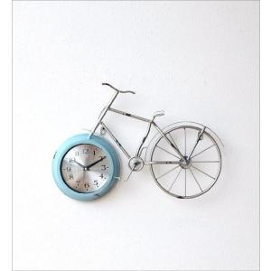 掛け時計 アンティーク レトロ おしゃれ かわいい ビンテージ アナログ 自転車ウォールクロック|gigiliving|07