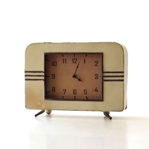 置き時計 置時計 アンティーク レトロ おしゃれ アナログ 卓上 時計 レトロなマントルクロック|gigiliving