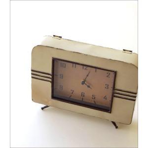 置き時計 置時計 アンティーク レトロ おしゃれ アナログ 卓上 時計 レトロなマントルクロック|gigiliving|02