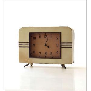 置き時計 置時計 アンティーク レトロ おしゃれ アナログ 卓上 時計 レトロなマントルクロック|gigiliving|05