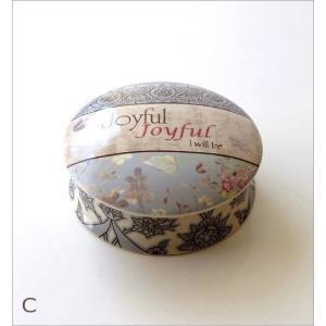 小物入れ ふた付き おしゃれ 陶器 卓上 アクセサリーケース 陶器のサークルBOX 4タイプ|gigiliving|07