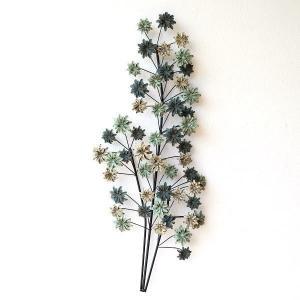 壁飾り アイアン 壁掛け インテリア アートパネル ウォールデコ 壁面 装飾 ディスプレイ おしゃれ アンティーク 花 植物 アイアンの壁飾り シャビーフラワー|gigiliving
