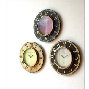 壁掛け時計 掛け時計 掛時計 壁掛時計 おしゃれ ウォールクロック アンティーク クラシック ヨーロッパ シャビーシック 丸型 壁掛レトロクロック 3タイプ|gigiliving|02