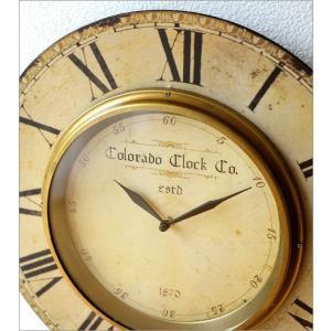 壁掛け時計 掛け時計 掛時計 壁掛時計 おしゃれ ウォールクロック アンティーク クラシック ヨーロッパ シャビーシック 丸型 壁掛レトロクロック 3タイプ|gigiliving|03