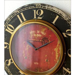 壁掛け時計 掛け時計 掛時計 壁掛時計 おしゃれ ウォールクロック アンティーク クラシック ヨーロッパ シャビーシック 丸型 壁掛レトロクロック 3タイプ|gigiliving|04