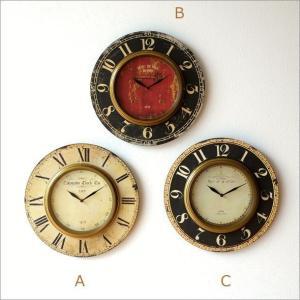 壁掛け時計 掛け時計 掛時計 壁掛時計 おしゃれ ウォールクロック アンティーク クラシック ヨーロッパ シャビーシック 丸型 壁掛レトロクロック 3タイプ|gigiliving|07